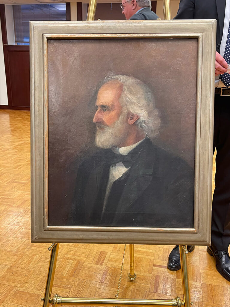 W.B. Henry P.H. Bromwell painting