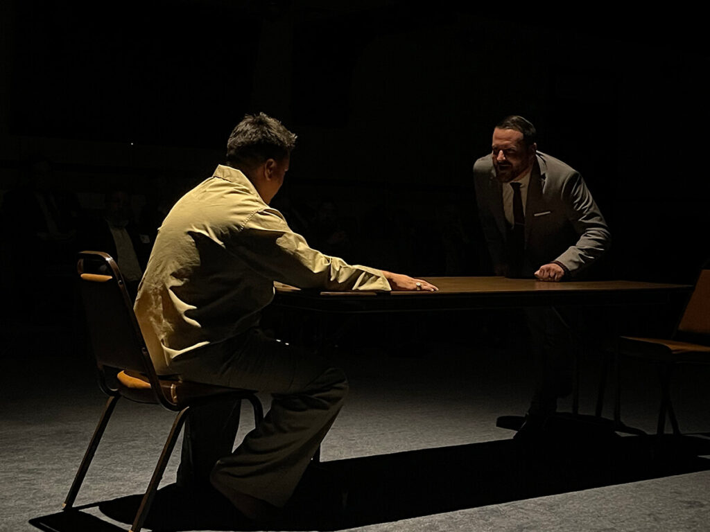 """Another amazing performance by WB Michael Rossi and Brother Daniel Lamorie in """"Defense of the Ruffians"""""""